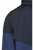 Geaca pentru vant doua culori Tech bleumarin-bleumarin Urban Classics