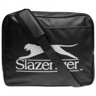 Geanta de Umar Slazenger Flash negru argintiu