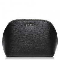 Geanta DKNY DKNY Sutton Wash negru auriu bgd