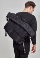 Geanta nailon XXL Traveller negru-negru Urban Classics