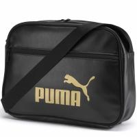 Geanta Puma WMN Core Up Reporter negru 076735 01 pentru femei