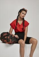 Geanta sala sport portocaliu-camuflaj Urban Classics