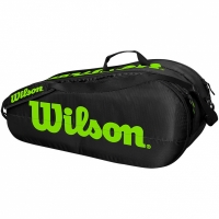 Mergi la Geanta The Wilson Team tenis 2 Comp negru-verde WR8009601001