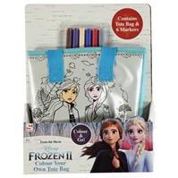 Geanta Tote cu personaje Frozen Colour Your Own