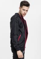 Geci de primavara barbati elegante negru-rosu Urban Classics