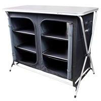 Gelert Double 4 Shelf Cupboard