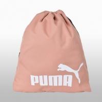 Geanta sala roz Puma Phase Gym Sack Femei