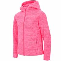 Jacheta ' polar 4F HJZ18 JPLD001 neon coral pentru fete copii