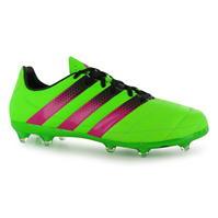 Ghete de fotbal adidas Ace 16.2 din piele FG pentru Barbati