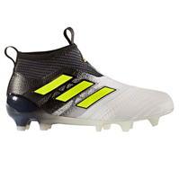 Ghete de fotbal adidas Ace 17 Plus Purecontrol FG Laceless pentru copii