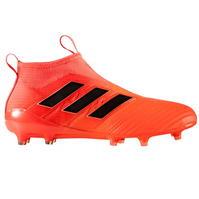 Ghete de fotbal adidas Ace 17 Purecontrol FG Laceless pentru Barbati