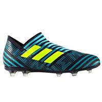 Ghete de fotbal adidas Nemeziz 17 Plus 360 Agility FG Laceless pentru copii