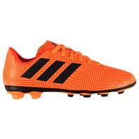 Ghete de fotbal adidas Nemeziz 18.4 FG pentru Copii