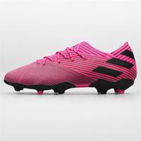 Ghete de fotbal adidas Nemeziz 19.1 Unisex FG pentru Copii