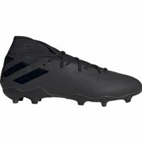 Ghete de fotbal Adidas Nemeziz 193 FG negru F34390 pentru barbati