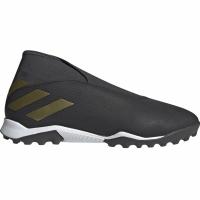 Ghete de fotbal Adidas Nemeziz 193 LL gazon sintetic negru EF0386