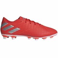 Ghete de fotbal Adidas Nemeziz 194 FxG rosu F34393 pentru femei