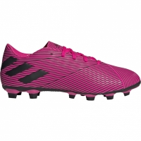 Ghete de fotbal Adidas Nemeziz 194 FxG roz F34392 pentru femei