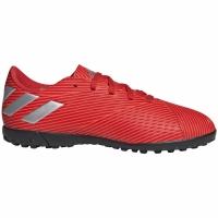 Ghete de fotbal Adidas Nemeziz 194 gazon sintetic rosu F99935 copii