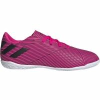 Ghete de fotbal Adidas Nemeziz 194 IN roz F99939 pentru copii
