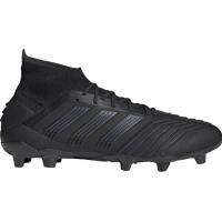 Ghete de fotbal Adidas Predator 191 FG negru F35609 pentru barbati
