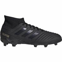 Ghete de fotbal Adidas Predator 193 FG negru G25794 pentru copii