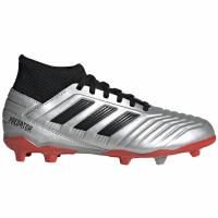 Ghete de fotbal Adidas Predator 193 FG Silver G25795 copii
