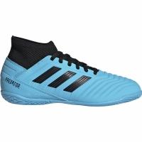 Ghete de fotbal Adidas Predator 193 IN albastru G25807 pentru copii pentru femei