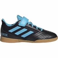 Ghete de fotbal Adidas Predator 194 H & L IN Sala negru albastru G25831 pentru copii