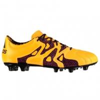 Ghete de fotbal adidas X 15.2 din piele FG pentru Barbati
