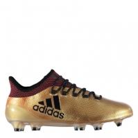 Ghete de fotbal adidas X 17.1 FG pentru Barbati