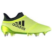 Ghete de fotbal adidas X 17Plus Purespeed SG Laceless pentru Barbati