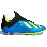 Ghete de fotbal adidas X 18.1 FG pentru copii