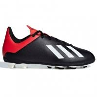 Ghete de fotbal adidas X 18.4 FG pentru copii