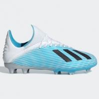 Ghete de fotbal adidas X 19.1 FG pentru copii