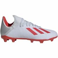 Ghete de fotbal Adidas X 193 FG Silver F35365 copii