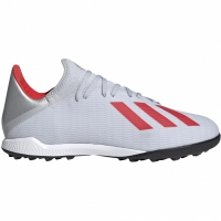 Ghete de fotbal Adidas X 193 gazon sintetic Silver F35374