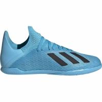 Ghete de fotbal Adidas X 193 IN albastru F35354 pentru copii