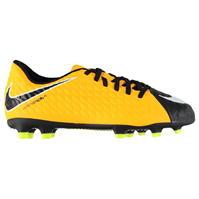 Ghete de fotbal Nike Hypervenom Phade 3 FG pentru copii