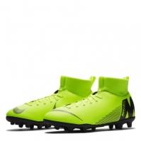 Ghete de fotbal Nike Mercurial Superfly Club DF FG pentru copii