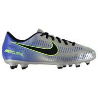 Ghete de fotbal Nike Mercurial Club Neymar FG pentru copii