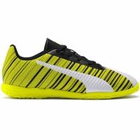 Ghete de fotbal Puma One 54 IT galben-alb-negru 105664 04 pentru copii