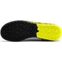 Ghete de fotbal Puma One 54 TT galben-alb-negru 105662 03 pentru copii