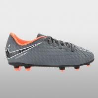 Ghete de fotbal  teren solid Nike Jr Phantom 3 Club Fg Baietei