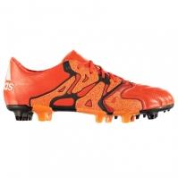 Ghete de fotbal adidas X 15.1 din piele FG pentru Barbati