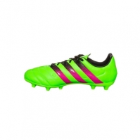 Ghete fotbal barbati Ace 16.3 FGAG Leather Green Adidas
