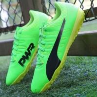 Ghete fotbal barbati EvoPower Vigor 4 TT Green Puma