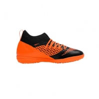 Ghete fotbal barbati Future 2.3 TT Black Orange Puma