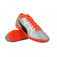 Ghete fotbal barbati One 4 SYN IT Grey Puma