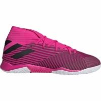 Ghete fotbal sala Adidas Nemeziz 193 IN roz F34411 pentru femei